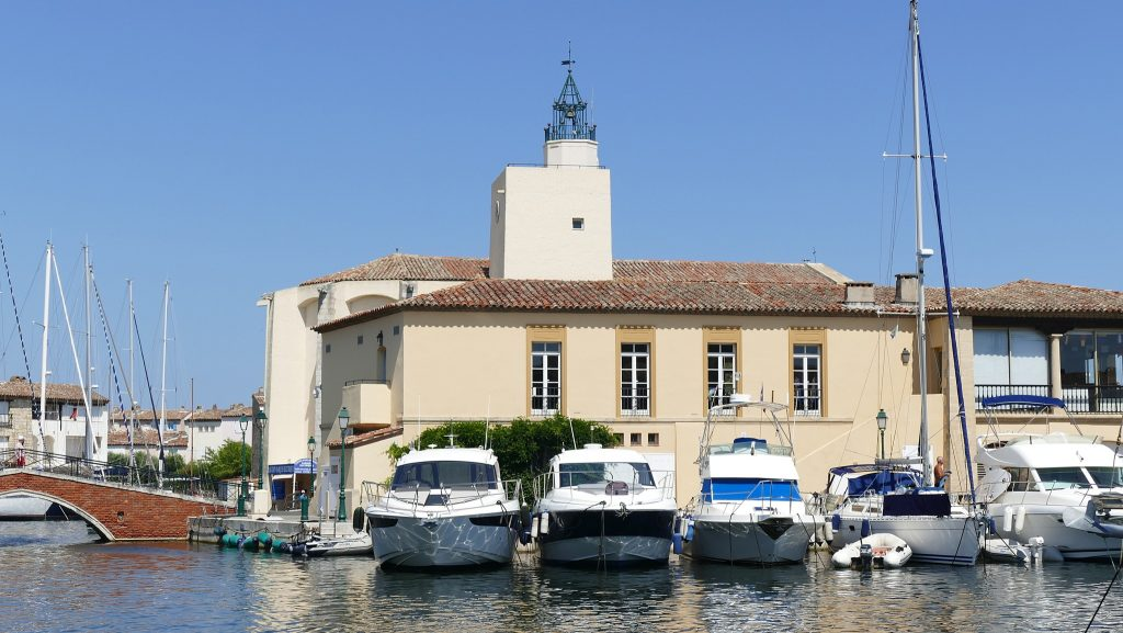 Capitainerie Port Grimaud